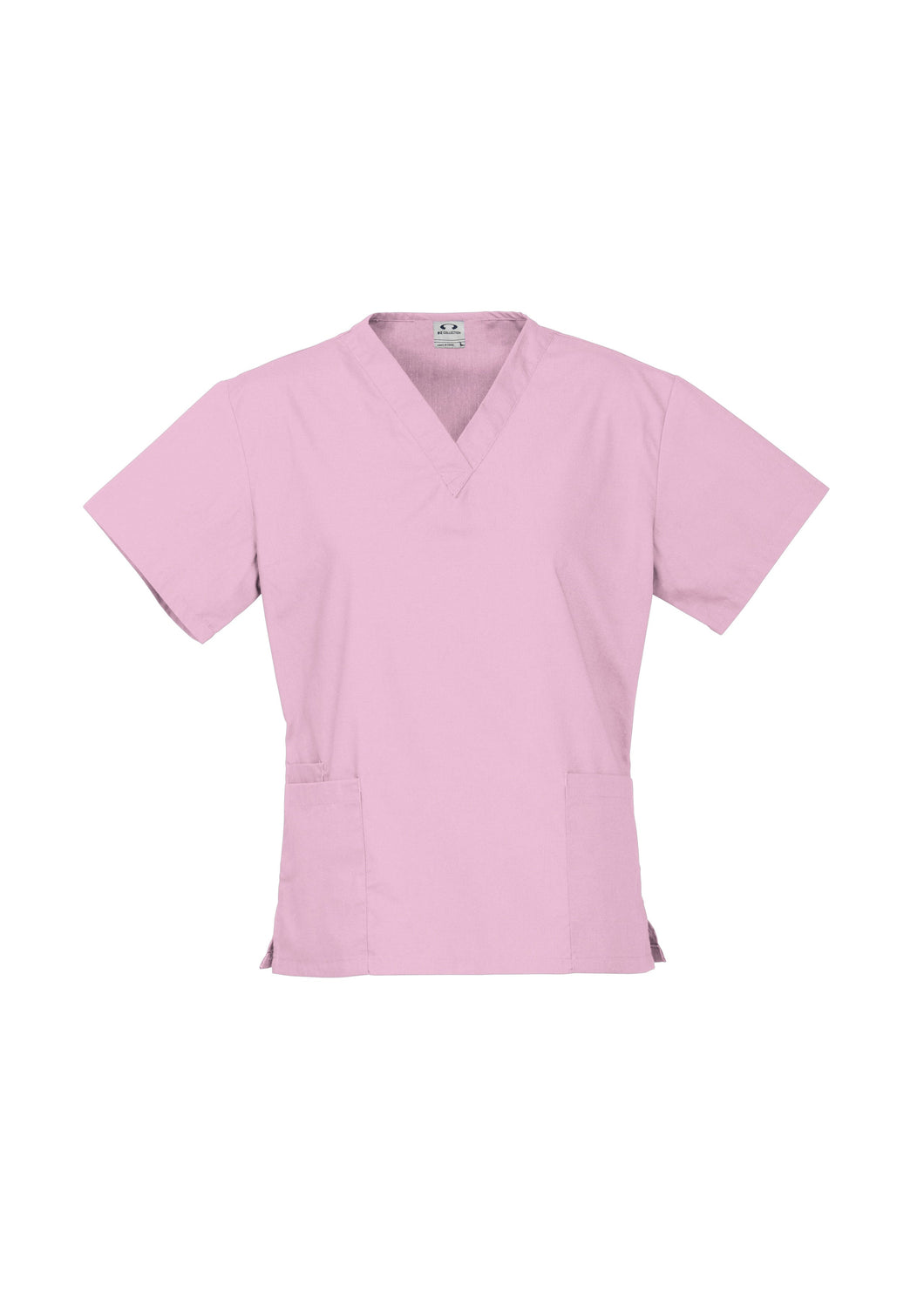 Baby Pink Classic Scrubs Ladies Top