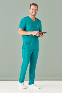 MEN'S MULTI-POCKET SCRUBS PANTS - CSP946ML