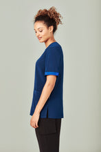 Load image into Gallery viewer, Biz Care Scrubs Identifier Electric Blue