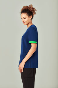 Biz Care Scrubs Identifier Lime