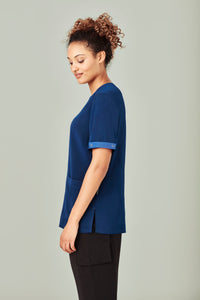 Biz Care Scrubs Identifier Mid Blue