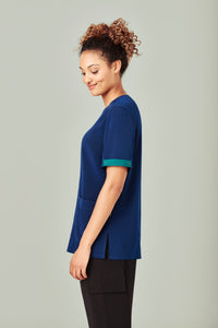 Biz Care Scrubs Identifier Teal