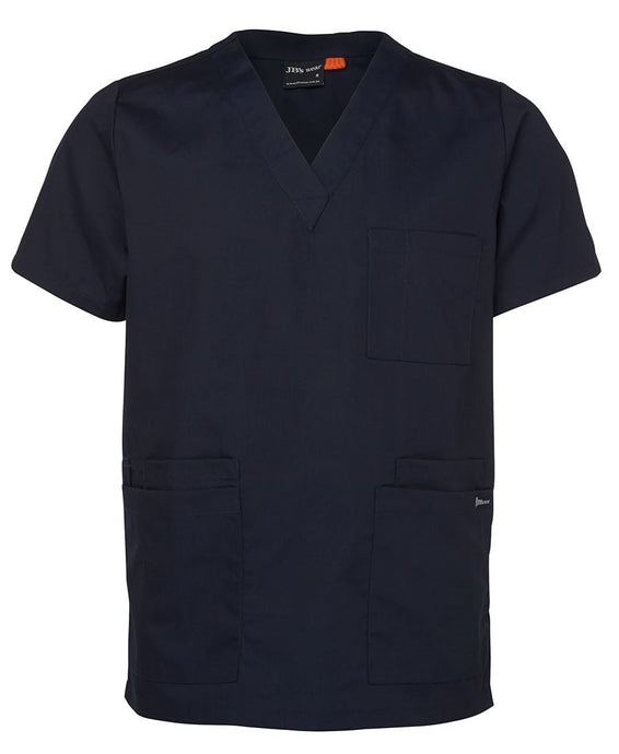 Navy Unisex Scrubs Top