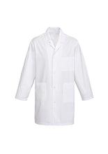 Load image into Gallery viewer, Unisex Lab Coat Front View