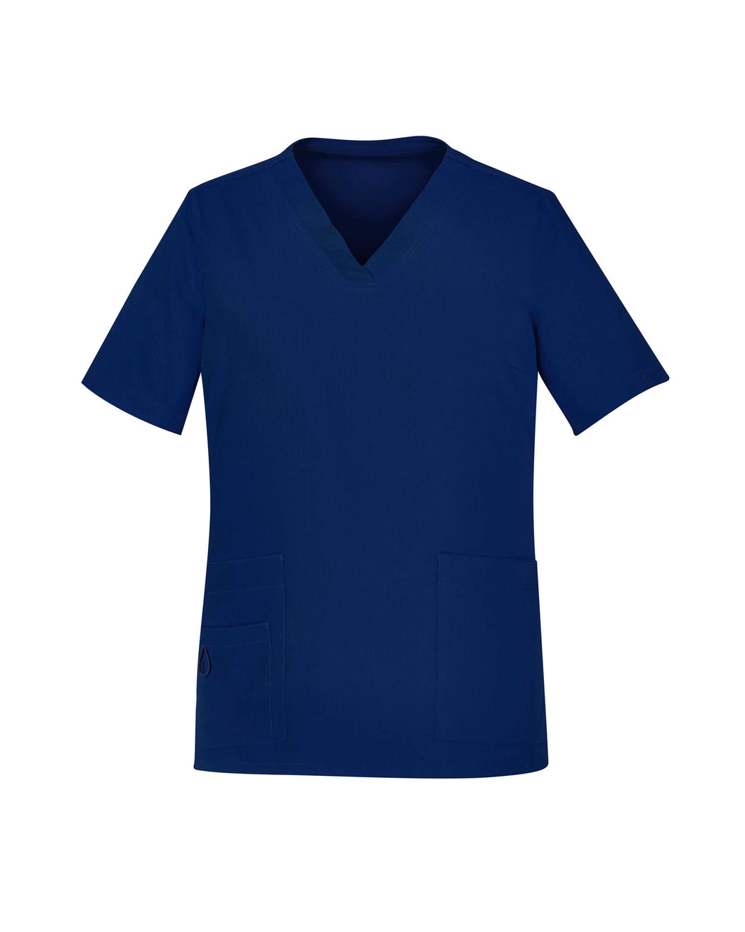 Women's Easy Fit V-Neck Navy Scrubs Top