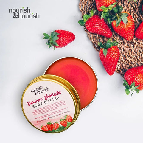 Nourish & Flourish Strawberry Body Butter
