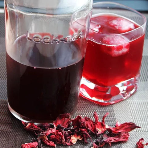 Hibiscus Syrup APPX 330ml