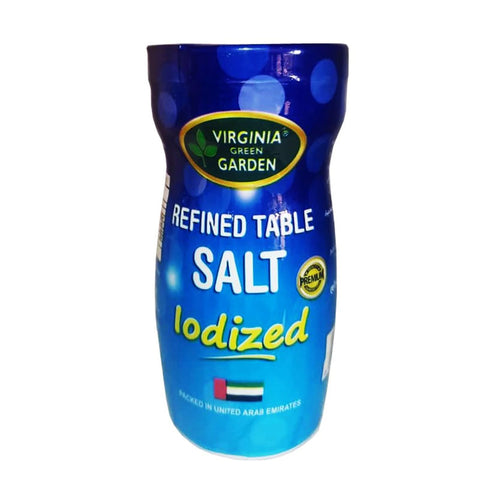 Virginia Green Garden Refined Table Salt iIodized