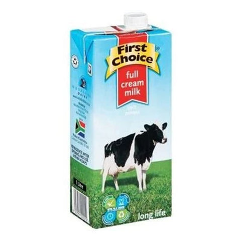 MILK - UHT Full Cream First Choice 1Ltr