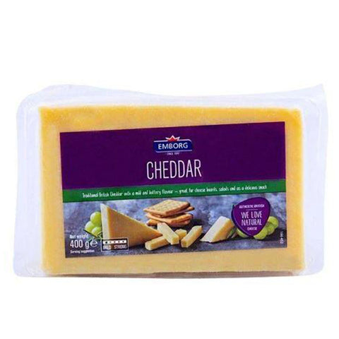 Emborg Cheddar Cheese 400g