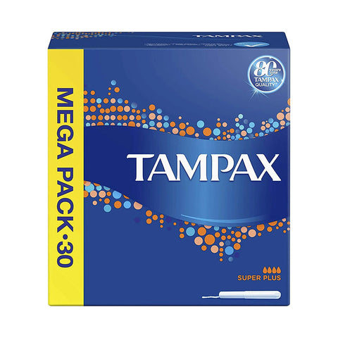 Tampax 30 Super Plus Mega Pack 30