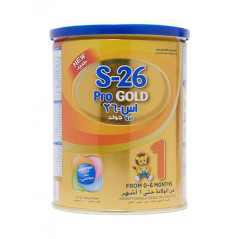 Baby Milk Powder - S-26 Pro GOLD From 0-6 Months