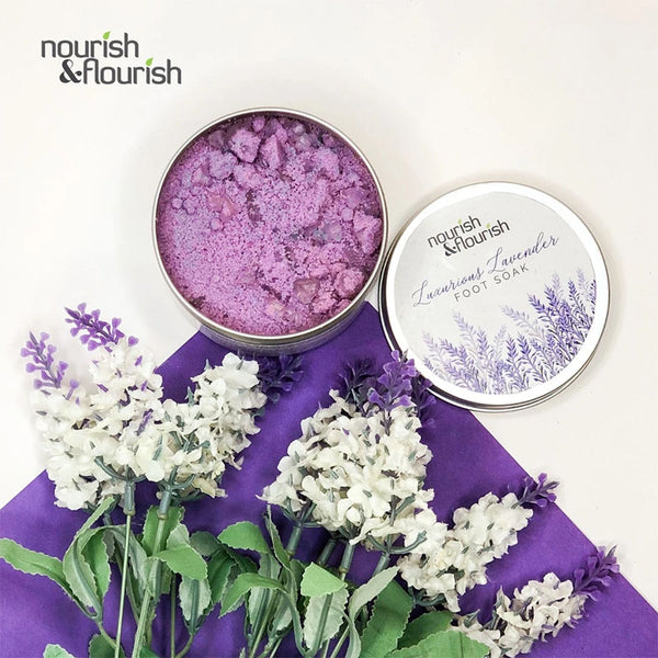 Nourish & Flourish Luxurious Lavender Footsoak