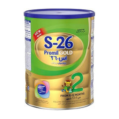 Baby Milk Powder - S-26 Promil GOLD From 6-12 Months