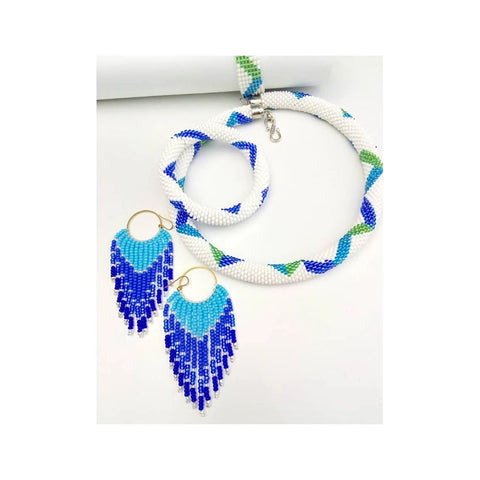 Chihiyo Custom Necklace Bracelet & Earrings Set