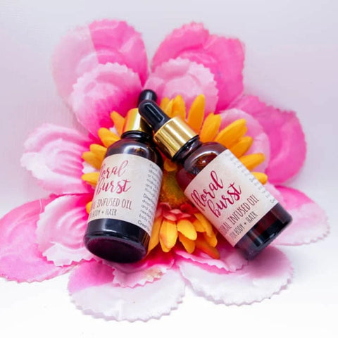 Nourish & Flourish Floral Burst  Hair & Body Oil