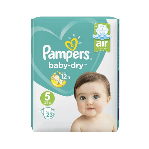 Pampers 23 Baby-Dry - Size 5