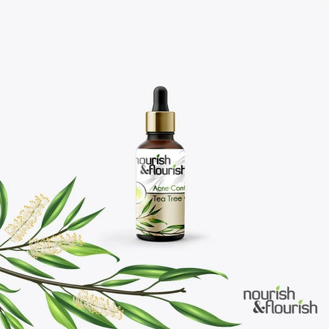 Nourish & Flourish Acne Control Tea Tree Oil