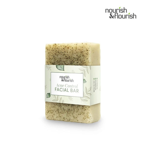 Nourish & Flourish Acne Control Facial Bar