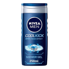 Shower Gel - Nivea Men Cool Kick Shower Gel 250ml