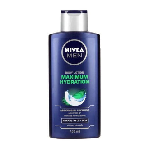 Body Lotion - Nivea MEN Maximum Hydration 400ml