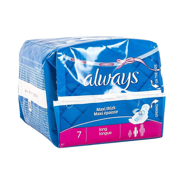 Sanitary Pads - Always Maxi thick Long 7pads