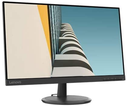 Lenovo C24-25 PC Computer 24'' Monitor, AMD FreeSync, HDMI, VGA, 4MS Response Time & Adjustable Tilt,Black