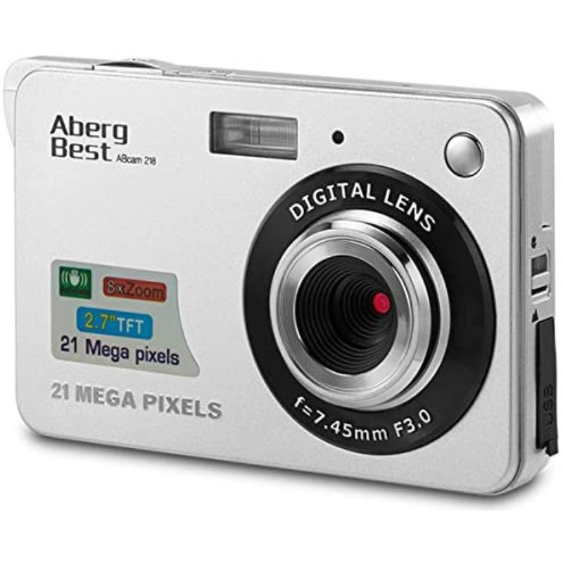 AbergBest LCD Rechargeable HD Digital Cameras