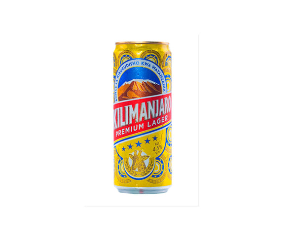 Kilimanjaro Beer 330ml Cans Pack of 6