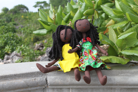 Kanga Africa Tribal Doll