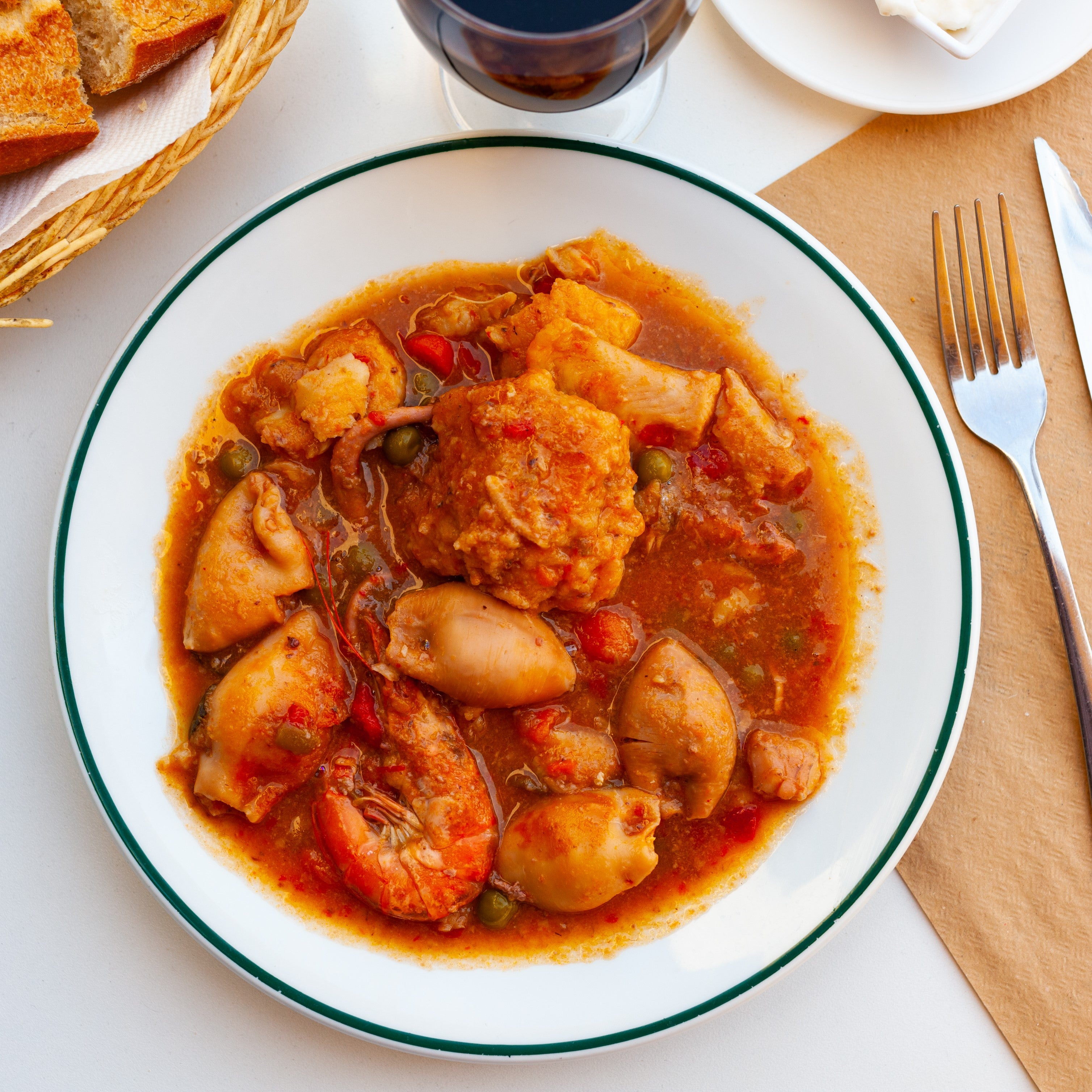 Two Classic Spanish Seafood Dishes Online