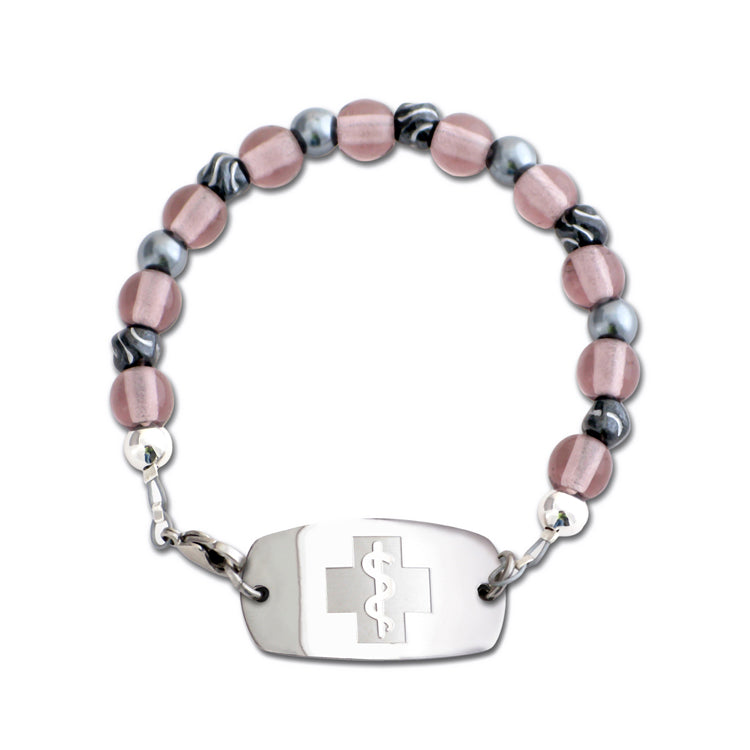 Cherry Blossom Bracelet - Small Emblem - Lobster Clasp
