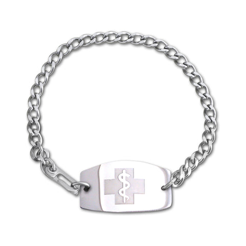 Dani Bracelet - Large Emblem - Safety Clasp