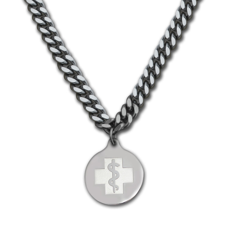 Quantum Necklace - Medallion Emblem - Lobster Clasp