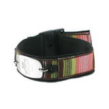 Sports Band - Small Emblem - Buckle Closure - 70's Stripe