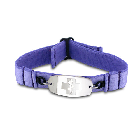 SuperSoft Band - Small Emblem - No Buckle - Lavender
