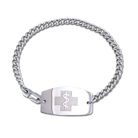 Tamar Bracelet - Large Emblem - Safety Clasp