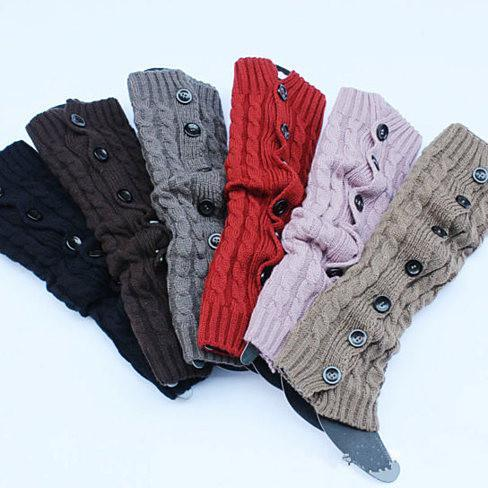 Fancy Feet - Button up your Boot Socks - Color: Coco