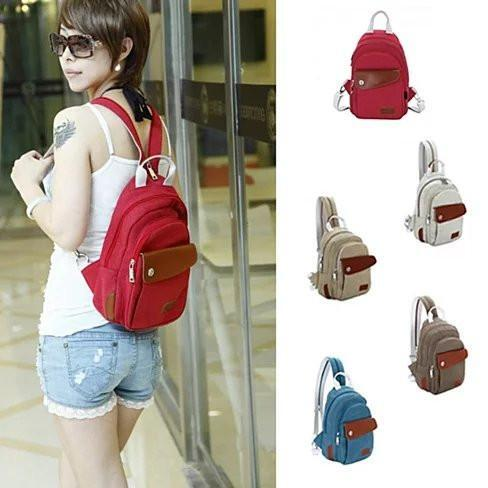 QTPie Cute Mini Backpack - Color: Valentine Red QT