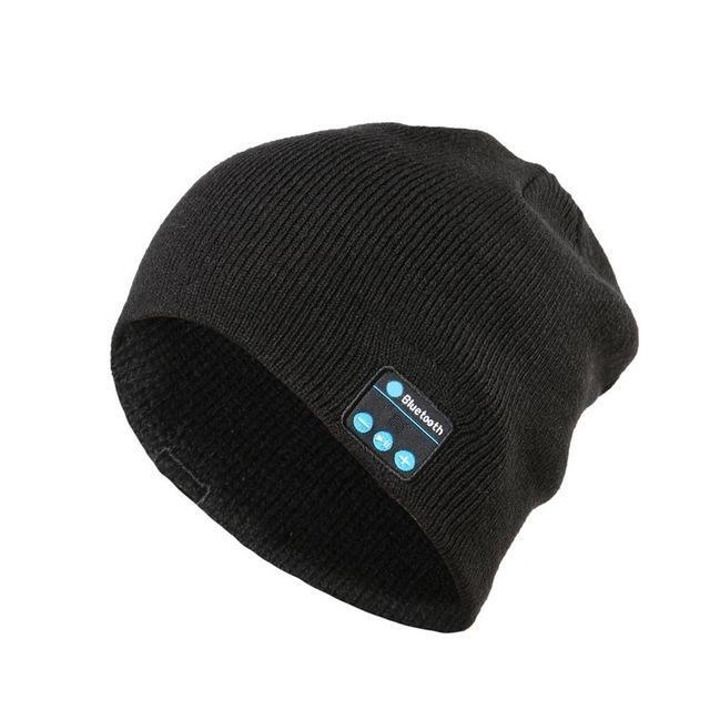 Musical Beanie Bluetooth Hat - Color: Black