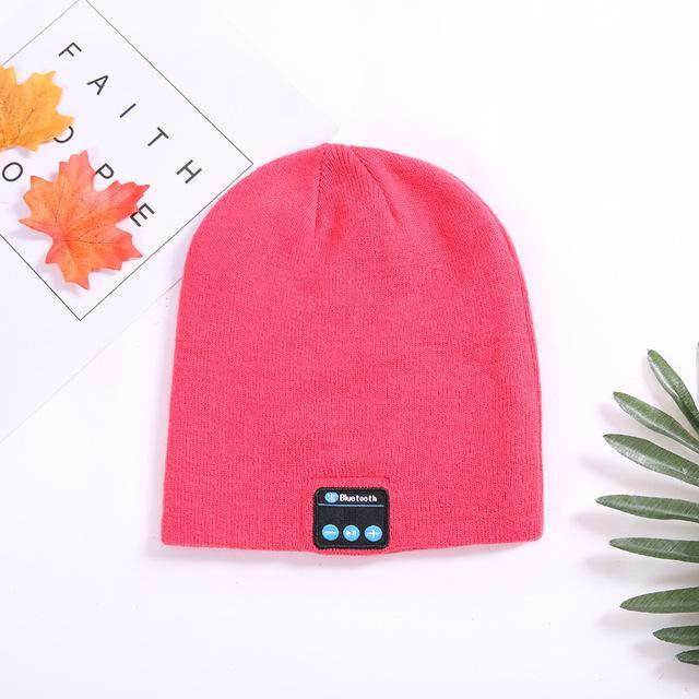 Musical Beanie Bluetooth Hat - Color: Pink