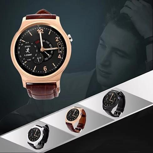GO GETTER Smart Watch Does It All Including Keeping You Kool and Clam - Watch Style: Bronze