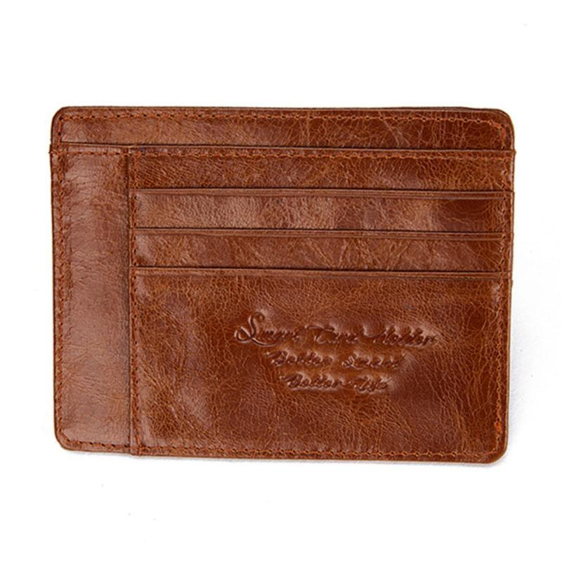 Anti-Theft and Anti-Lost Bluetooth Enabled Wallet - Color: LIGHT BROWN