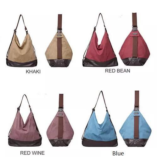 ALBA A Line Shoulder Bag by Journey Collection - Color: Red Bean
