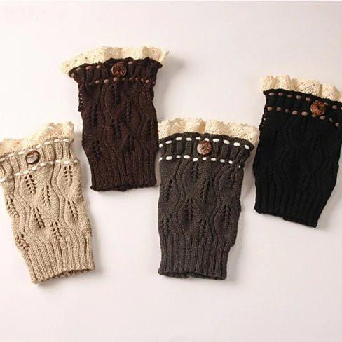 Winter Warmers SuperCute CableKnit Socks - Color: Roasted Beans