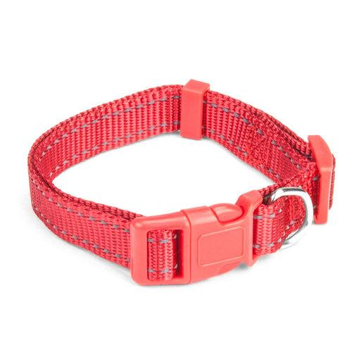 Small Red Adjustable Reflective Collar