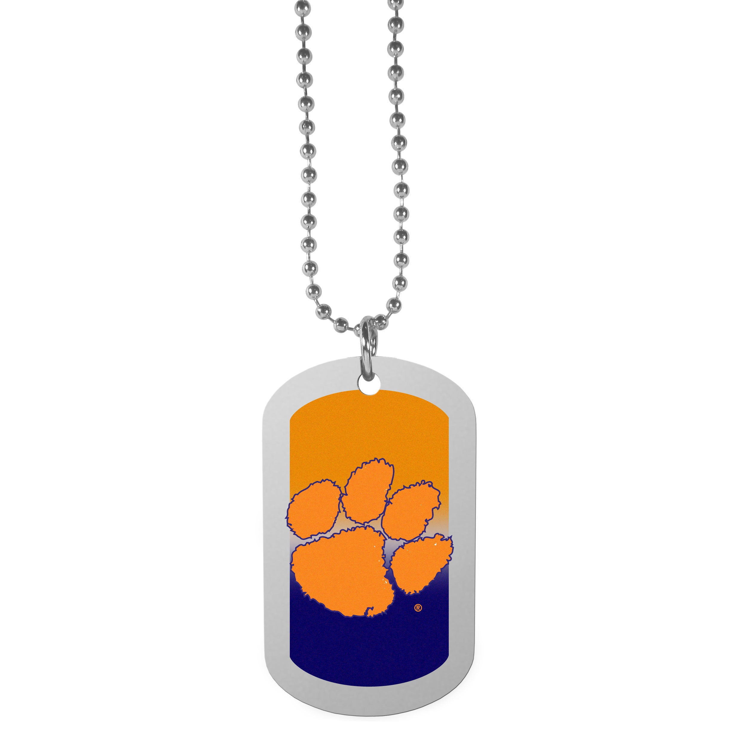Clemson Tigers Team Tag Necklace