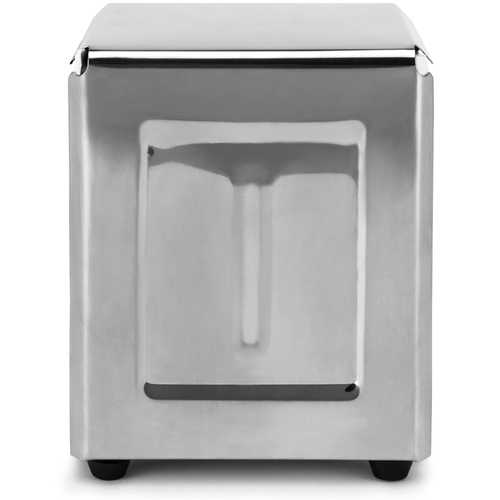 Spring-Load Stainless Steel Low-Fold Napkin Dispenser