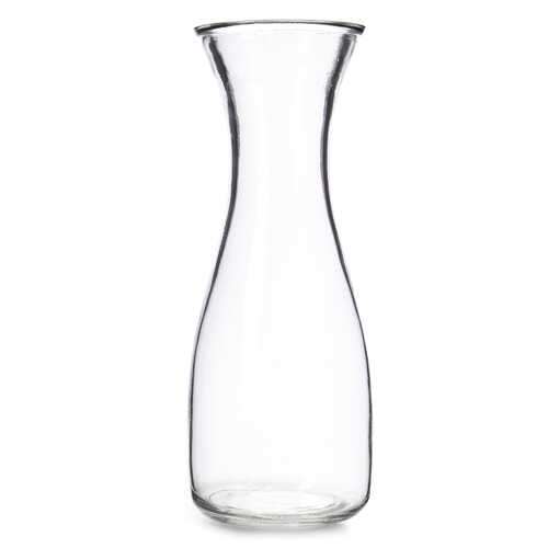 34 oz. (1 Liter) Glass Beverage Carafe