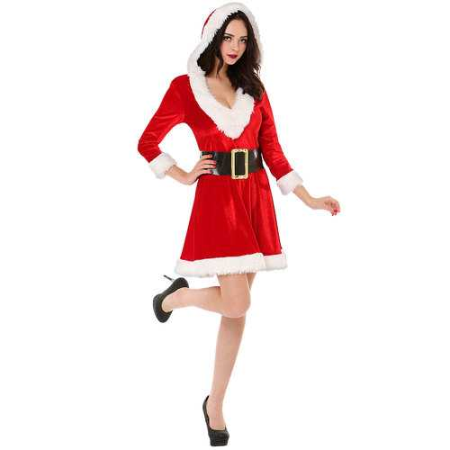Mistress Claus Women's Costume, Medium